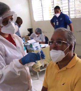 Decenas acudieron al operativo de prueba PCR